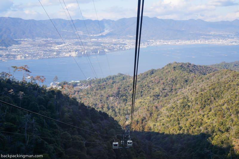 Miyajima Island cable car