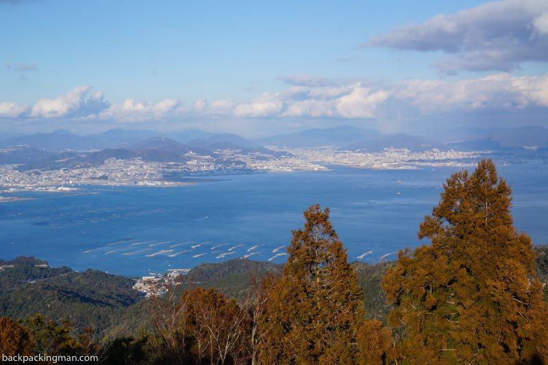 Miyajima Island hiking day trip from hiroshima