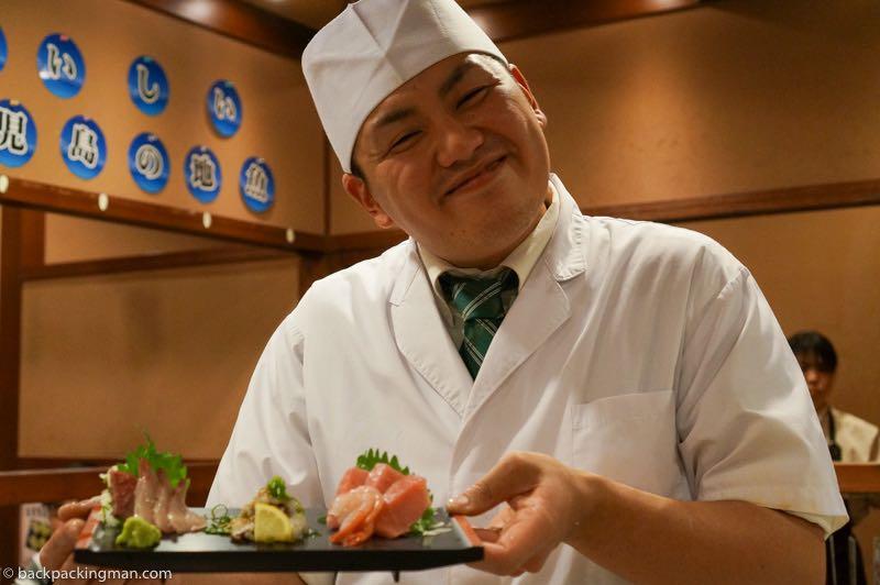 sushi Kagoshima Japan
