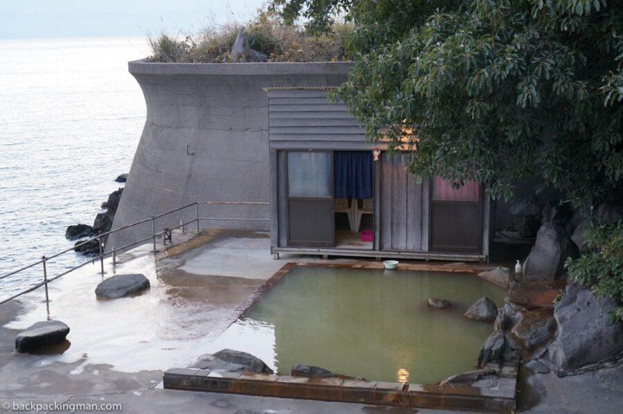 sakurajima onsen hot spring