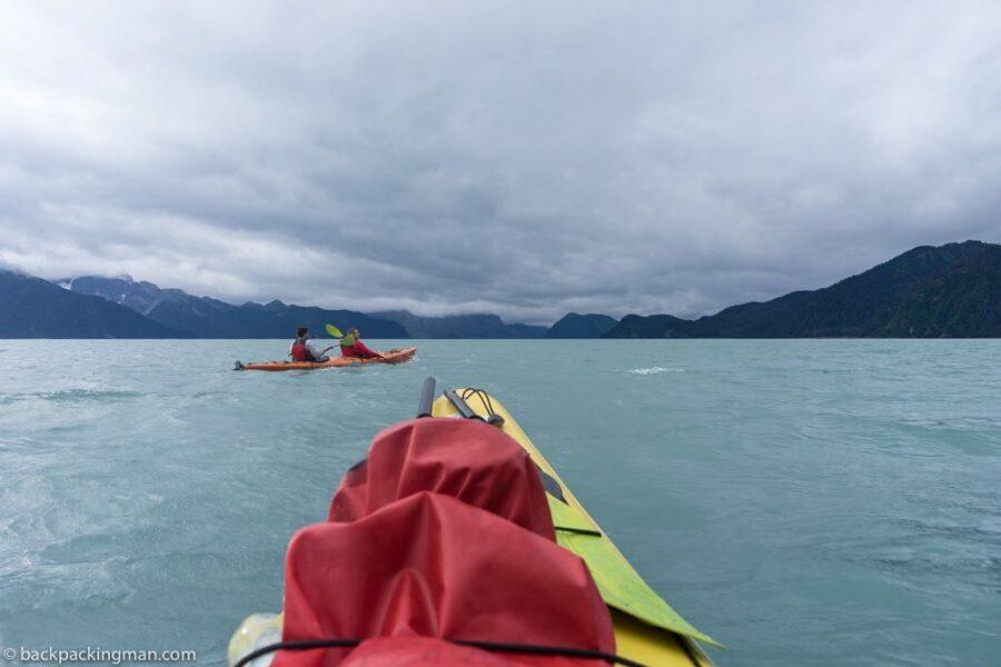 kayaking Seward Alaska