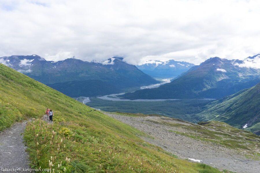 hiking exit glacier Seward Alaska