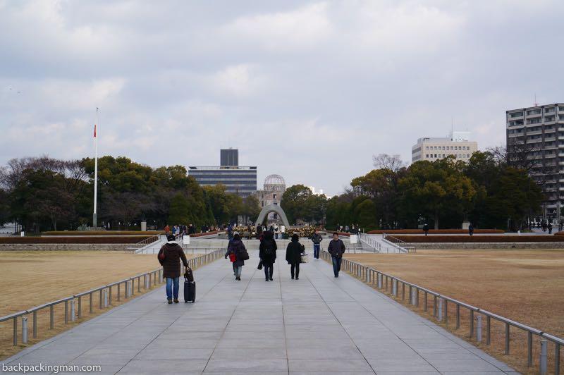 hiroshima peace memorial park osaka to hiroshima