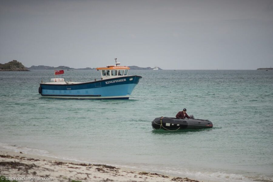 Samson boat isles of scilly