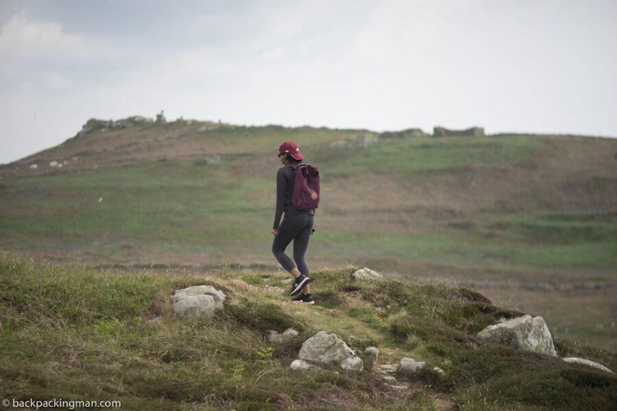 walking on Samson isles of scilly