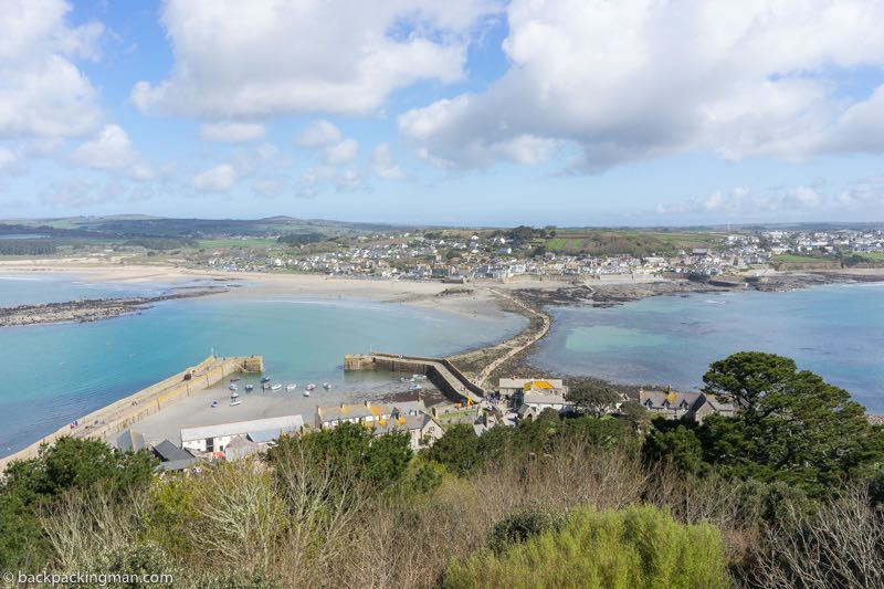 Marazion Cornwall view