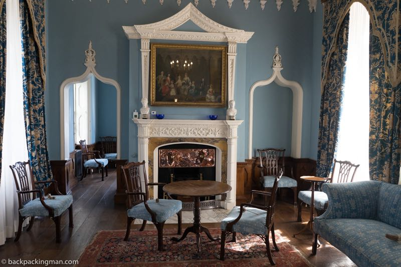 castle room cornwall