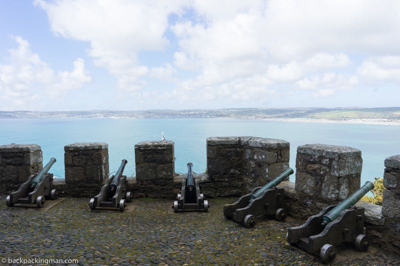 cannon cornwall castle