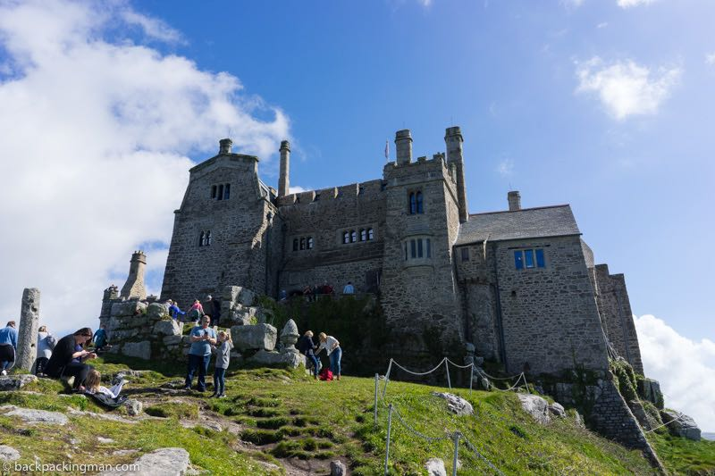 st Michaels mount cornwall castle
