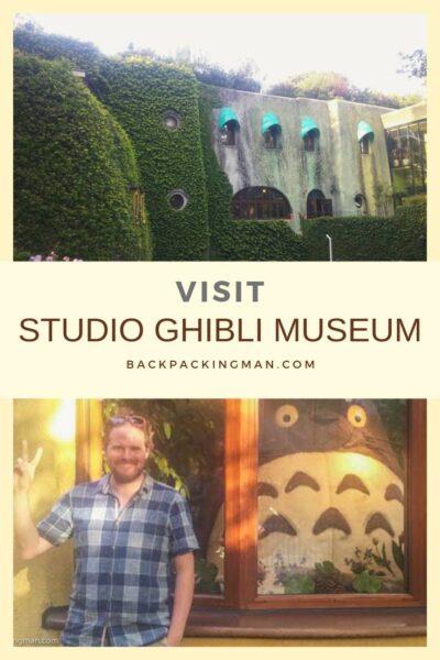 studio Ghibli Museum tokyo totoro