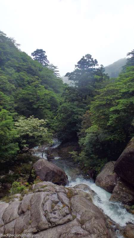 waterfall yakushima Japan