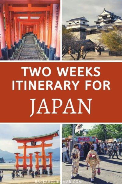 BEST OF JAPAN 2 WEEKS ITINERARY