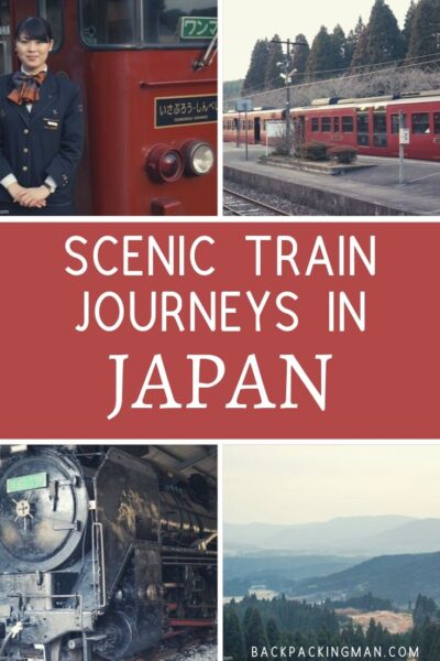 scenic train journeys Japan