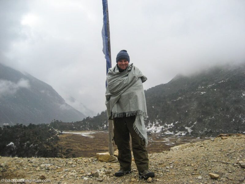 backpacking in sikkim mountains