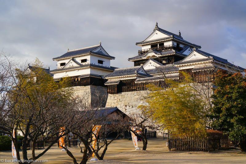 Matsuyama Castle best castles in Japan