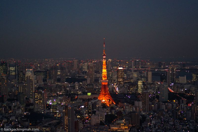 tokyo at night best of Japan