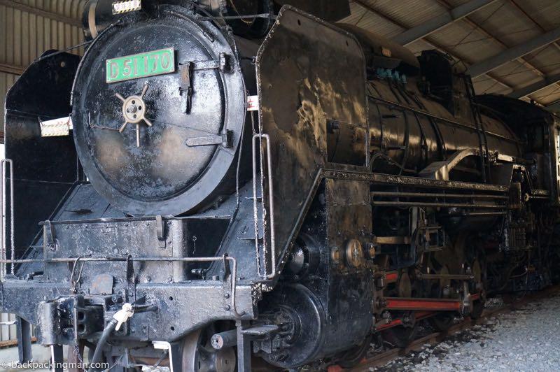 steam train Kyushu
