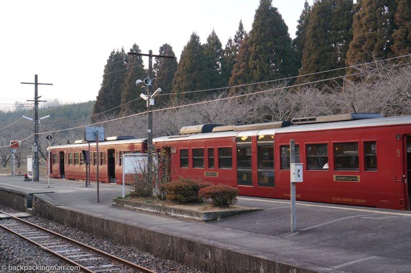Kyushu scenic train