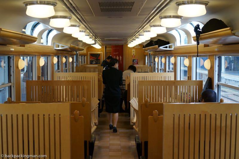 Kyushu scenic train route