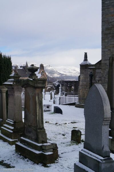stirling scotland cemetary