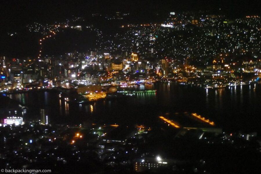nagasaki at night view