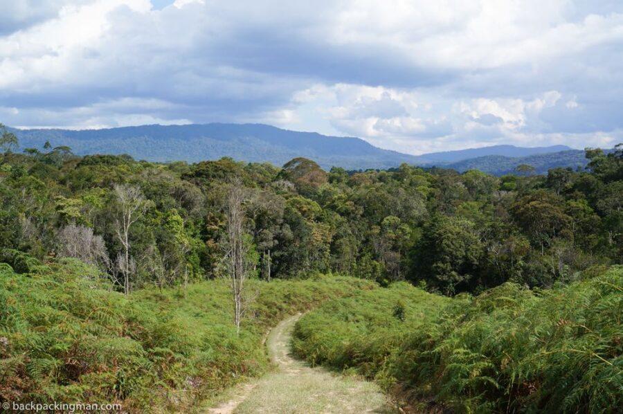 things to do in sarawak kelabit highlands trekking