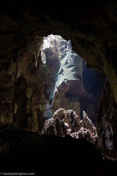 niah national park cave