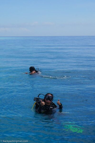 diving Pulau mabul