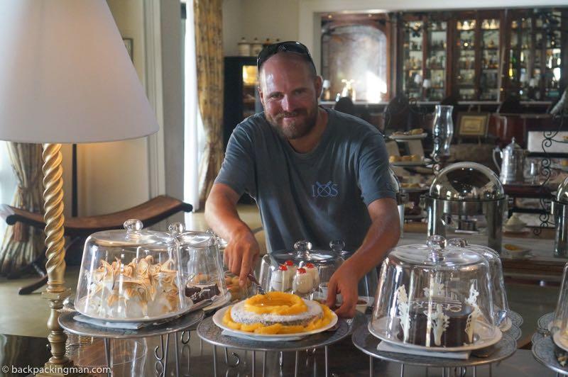 high tea royal Livingstone hotel
