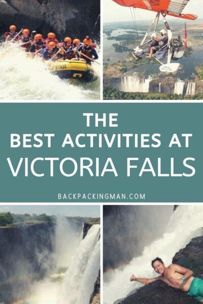 best Victoria Falls activities Livingstone Zambia