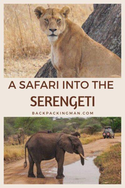 backpacking Tanzania travel serengeti safari