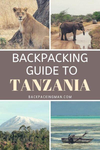 backpacking Tanzania travel guide