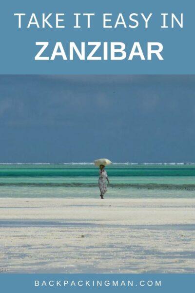 backpacking Tanzania travel Zanzibar