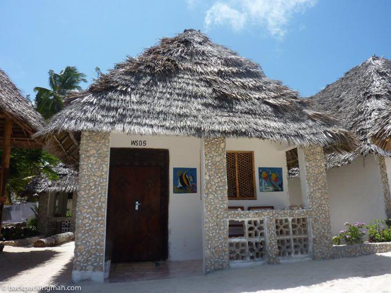 Zanzibar beach bungalow