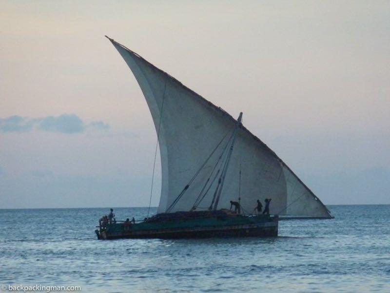 zanzibar dhow boat