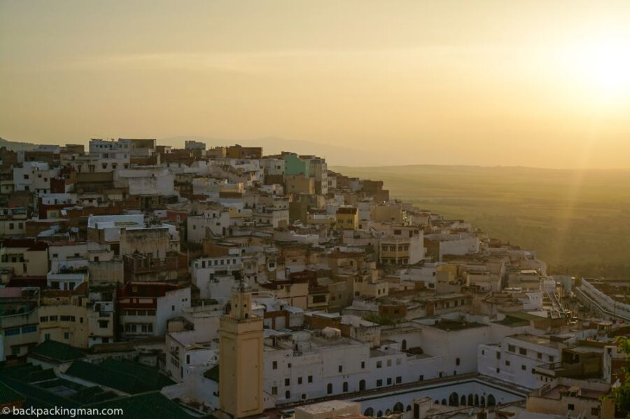 Morocco cities moulay Idriss