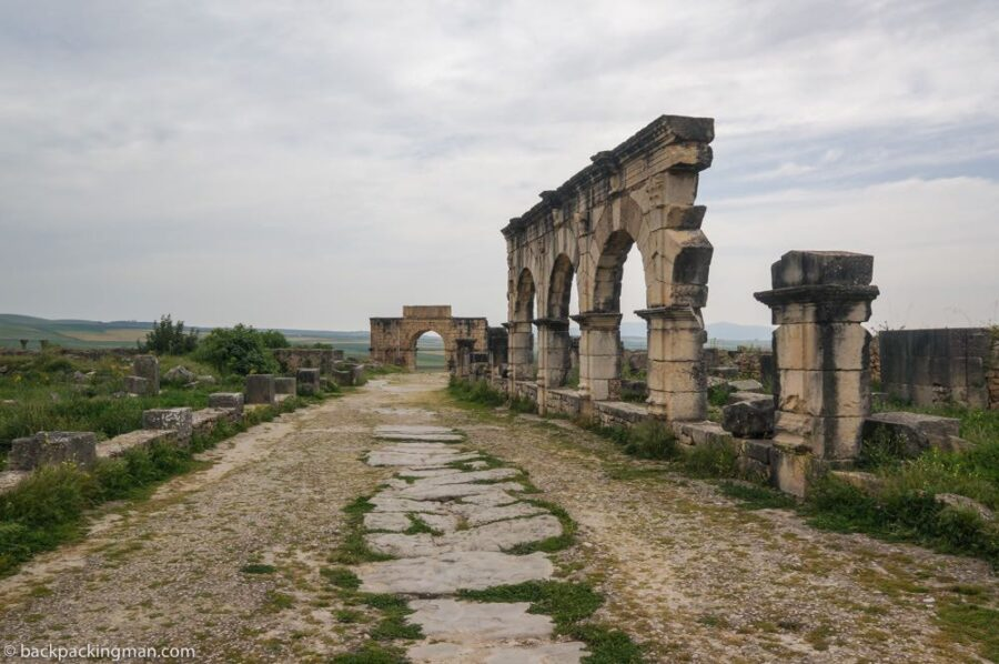 Morocco roman ruins