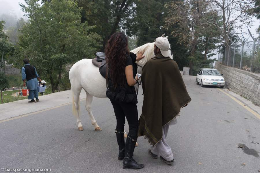 horse ride murree