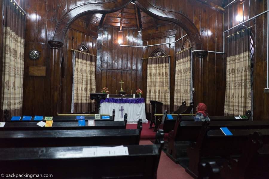 Nathia Gali church