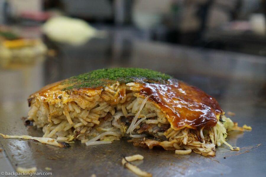 osaka okonomiyaki food