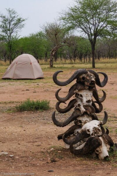 serengeti safari camping