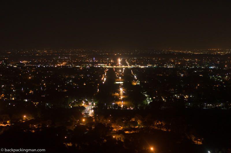 islamabad at night view