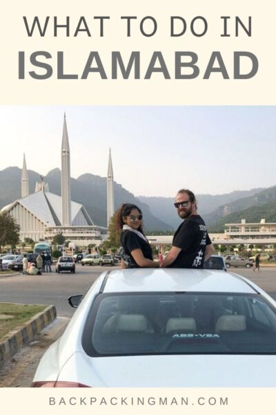 things to do in Islamabad Pakistan - Faisal Mosque