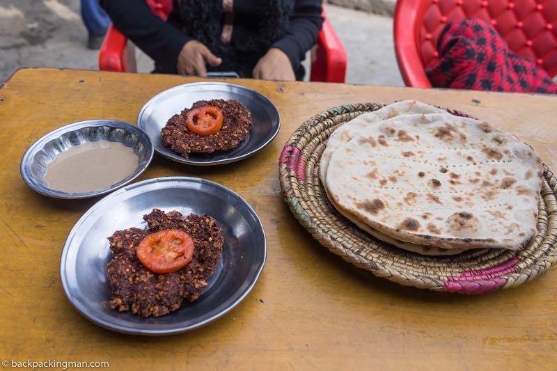 food in naran