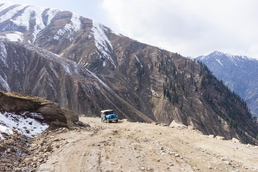 naran pakistan jeep