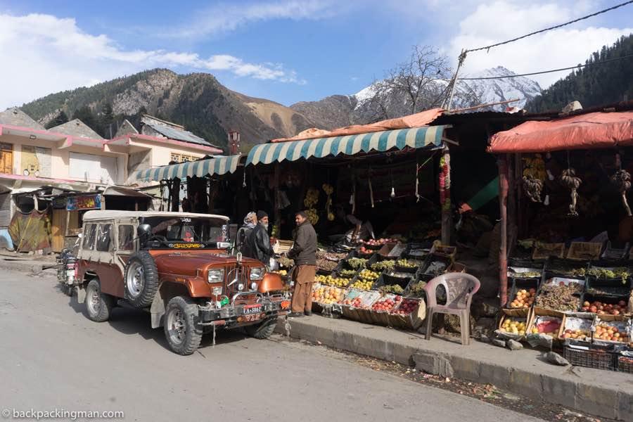 jeep in Naran Pakistan