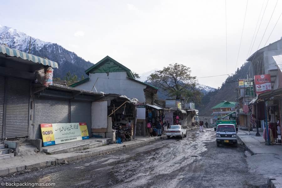 naran Main Street