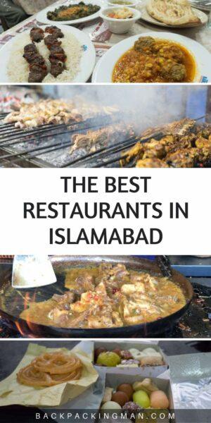 best restaurants Islamabad pakistan food travel