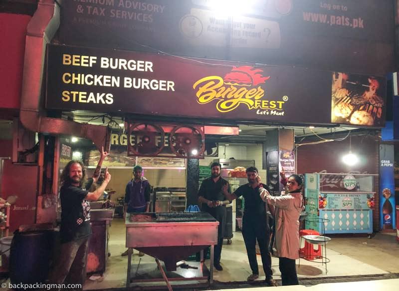 burger fest islamabad