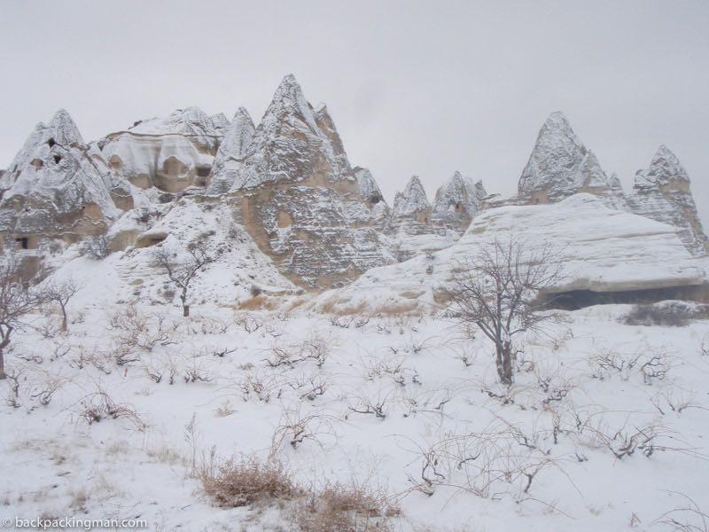 winter in Cappadocia